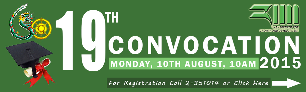 19th Convocation